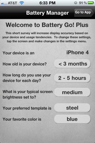 Battery Go! Plus ~ The Battery Management App