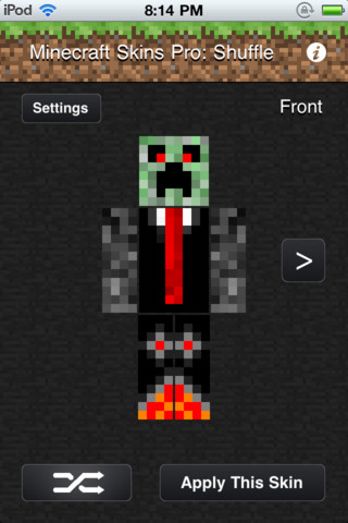Download minecraft skins pro shuffle iphone ipad ios