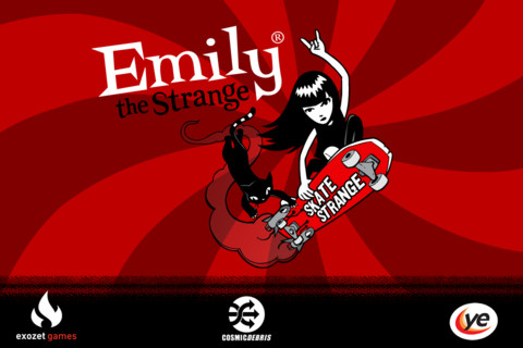 Emily the Strange - Skate Strange LITE strange and offbeat news