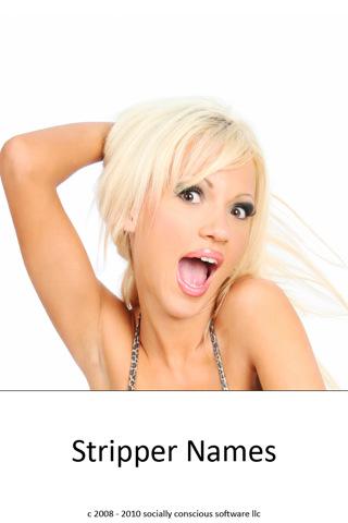 female stripper name generator