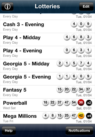 Florida Lotto App For Iphone