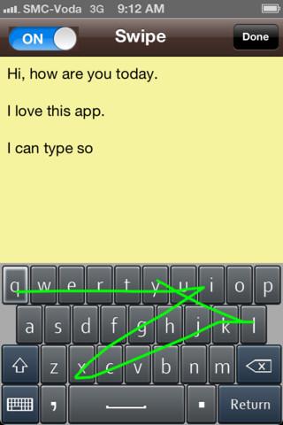 SWYPE Input Method - Swipe to Type