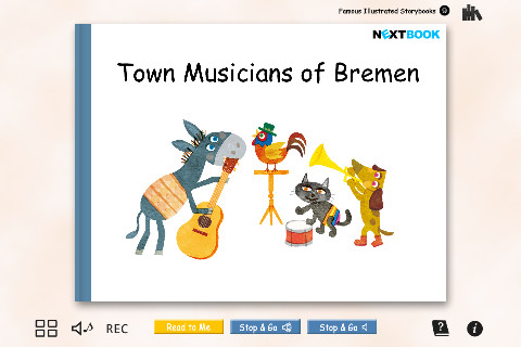 "FREE Edition ""Town Musicians of Bremen"" Famous Illustrated Storybooks 9 famous musicians"