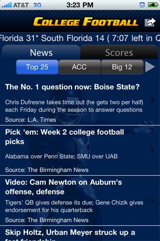 College Football Scoreboard A Fool's Handbook to...
