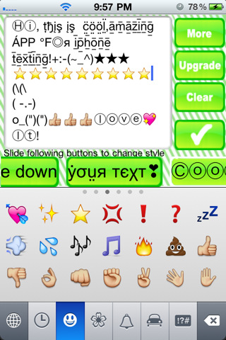 Emoji+Text Picture Keyboard- Creative SMS/Facebook Art for iPhone Texting(Free)