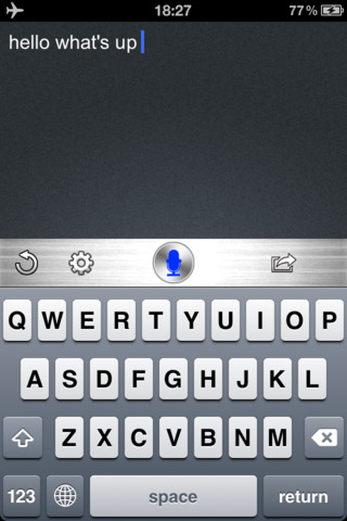 Voice Texting Generator for Facebook, Twitter and Tumblr