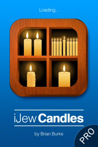 iJew Candles Pro - Candles for all Jewish Occasions remote control candles