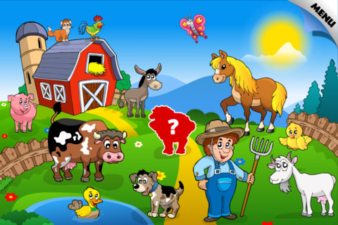 Abby – Preschool Shape Puzzle – Baby Farm Animals and Insect Free ...