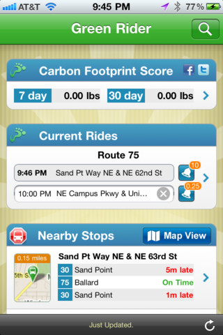 Green Rider - Eco Friendly Bus, Train, Ferry Real Time Transit Tracker eco friendly wallpaper