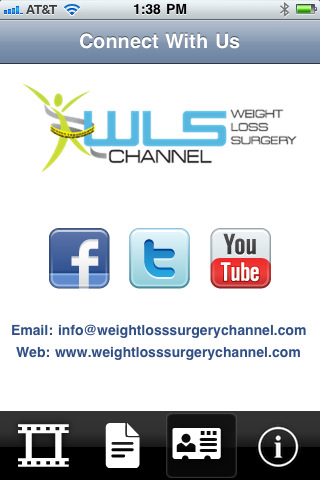 Weight Loss Surgery Channel 1.1 App for iPad, iPhone - Healthcare & Fitness - app by GWHQ Productions, LLC - LisiSoft.com