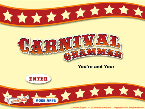 Carnival Grammar: You`re and Your