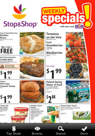 Shopper Free - with Shopping Lists, Flyer Specials, Recipes, Stores and more!