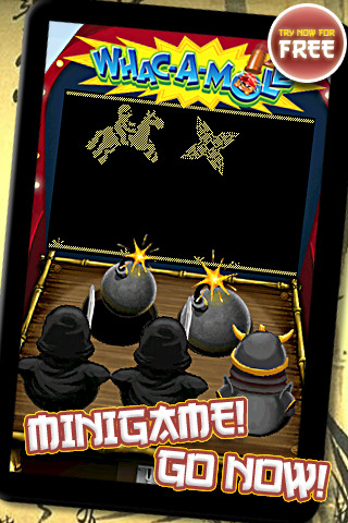 WHAC-A-MOLE FREE: Ninja Action Smackdown