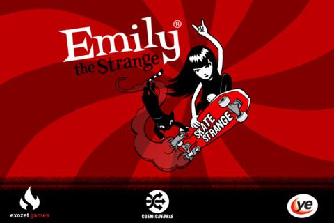 Emily the Strange - Skate Strange! strange and offbeat news
