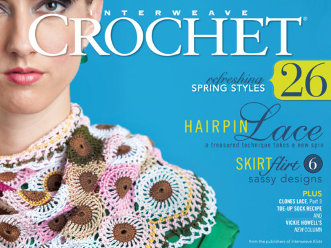 Free Crochet Magazine Subscriptions : Tags : crochet , interweave , subscription , account
