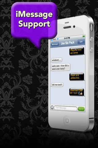 how to copy and paste from iphone pimp my text send color text messages app for 2768