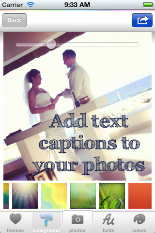 Color Cap - Text for Instagram