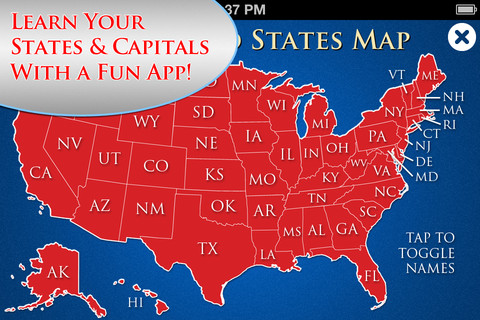 Learn the 50 States of the United States of America! (Study Pro) baltic states
