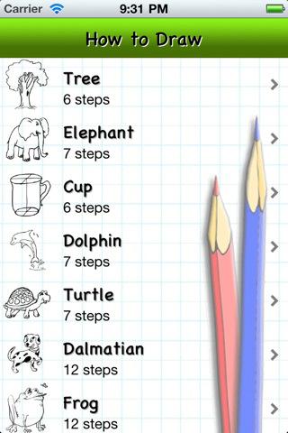 How to Draw - Animals, Cartoons, Cars, ..