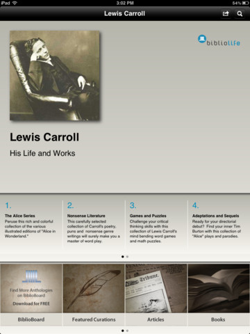 the life and literary works of lewis carroll The book has a lot of work of lewis carroll annotated by martin  this book  features a very famous poem jabberwocky, which is a poem about.