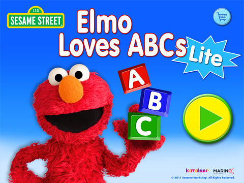 Elmo loves abcs lite for ipad app for ipad iphone games for Elmo abc