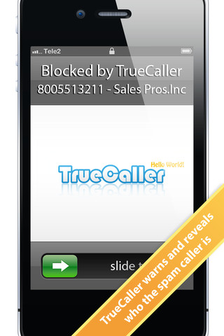 TrueCaller - worldwide number search and spam filter
