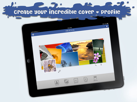 Cover & Profile maker for your Facebook - HD Lite 1.0