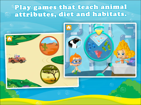 Bubble Guppies: Animal School Day