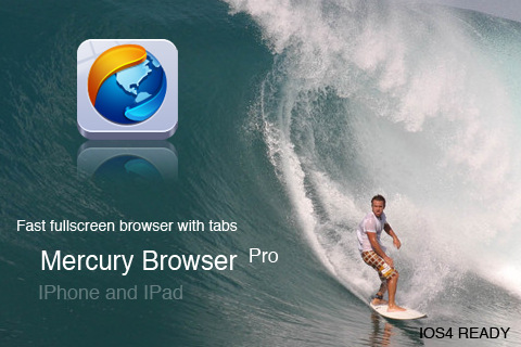 Mercury Web Browser Lite - The most advanced browser for iPad and iPhone
