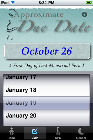 Due date based on conception in Sydney