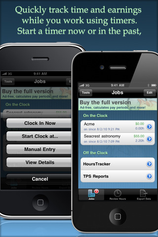 HoursTracker Lite - Timesheet