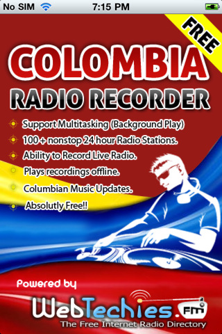 Radio Colombia with Recorder colombia radio