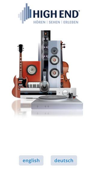 HIGH END high end audio equipment