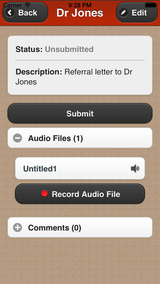 Smartapp medical transcription at home