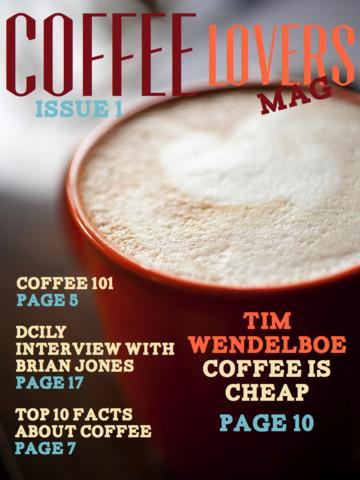 Coffee Lovers Mag coffee lovers