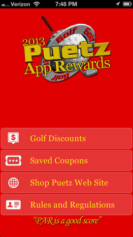 Puetz App Rewards 2013 golf season ends