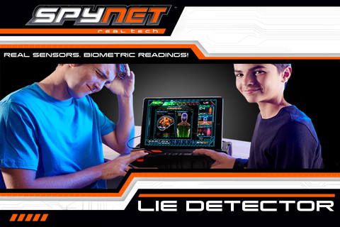 Spy Net™ Lie Detector 1.0 App for iPad, iPhone - Games - app by