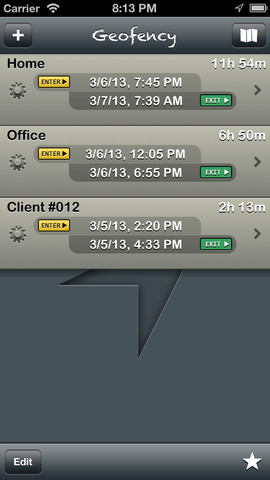Geofency - Location-based Time Tracking