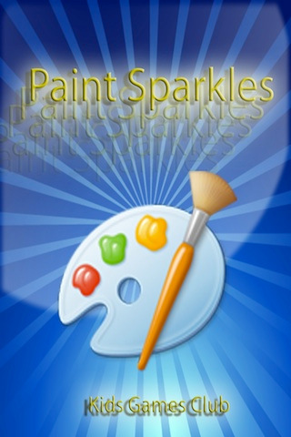 Paint Sparkles Draw - my first colors HD !