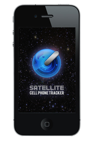 Satellite cell phone tracker app for ipad iphone