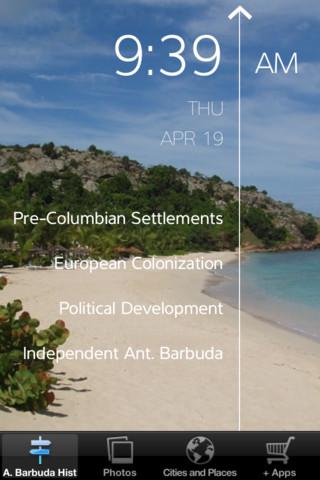 Antigua and Barbuda - All About antigua barbuda map