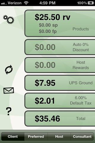 Order Calculator for Arbonne Independent Consultants arbonne