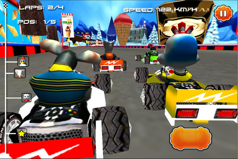 Auto Racing Sound Effects on Cartoon Car Racing   Race Games For Kids   1 0 App For Ipad  Iphone