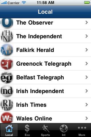 UK Newspapers  Uk News papers : the Sun, Guardian UK, Herald, Telegraph, etc. projector screens uk