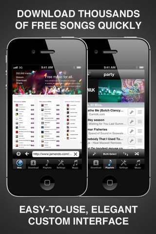 Free Music Downloader and Player Free