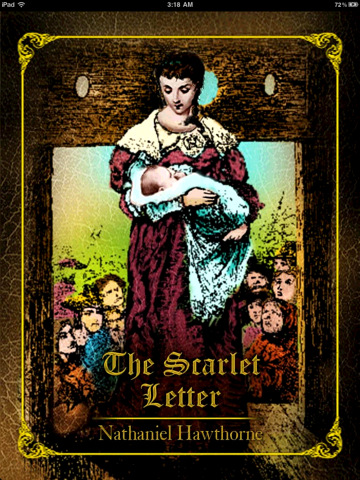 The influence of nathaniel hawthorne background on his novel the scarlet letter