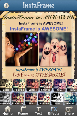 Instaframe - Photo Frame & Photo Captions for Instagram Free