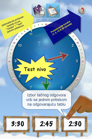 Tick Tock Clock (Serbian) - Learn How to Tell Time Using Digital and Analog Clock