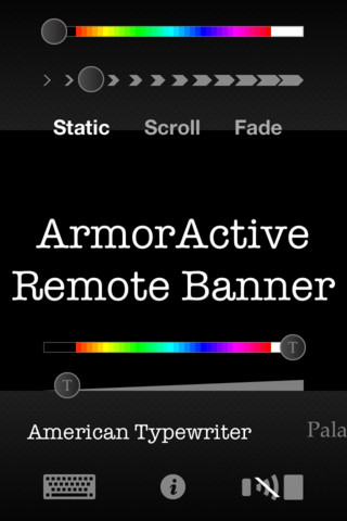 Banner RC - Stand alone marquee or remote control for Remote Banner banner printing