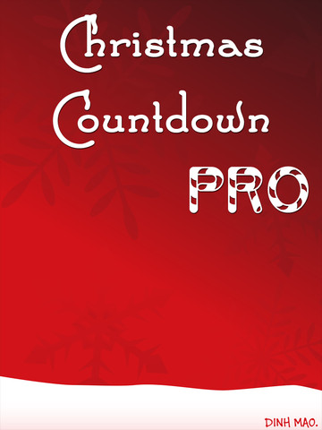 Christmas Countdown on Christmas Countdown For Ipad 1 2 1 App For Ipad  Iphone